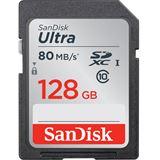 128 GB SanDisk Ultra SDXC Class 10 Retail