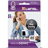 8 GB xlyne 7408001 microSDHC Class 10 Retail
