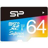 64 GB Silicon Power UHS-1U3 microSD Class 10 Retail