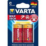 Varta Max Tech LR14 Alkaline C Baby Batterie 1.5 V 2er Pack