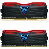 16GB GeIL Super Luce LED rot DDR4-2400 DIMM CL15 Dual Kit