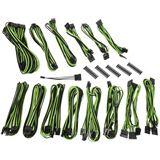 BitFenix Alchemy 2.0 PSU Cable Kit, CMR-Series - schwarz/grün
