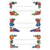 Herma Haushalts-Etiketten Beerenarrangements, 76 x 35 mm