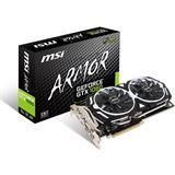 6GB MSI GeForce GTX 1060 Armor 6G OCV1 Aktiv PCIe 3.0 x16 (Retail)