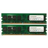 4GB V7 DDR2-800 DIMM CL6 Dual Kit