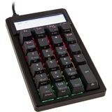 Ducky Pocket PBT Numpad, MX Brown, RGB LED - schwarz