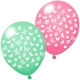 """Susy Card Luftballons """"Butterflies"""", farbig sortiert"""