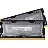 32GB Crucial Ballistix Sport LT Dual Rank grau DDR4-2400 SO-DIMM CL16 Dual Kit
