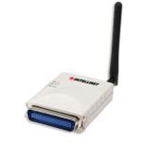 INTELLINET Wireless G 1-Port Parallel P