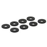 InLine 8 Gummi Unterlegscheiben Entkoppler für Festplatten (00244)