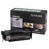 Lexmark Toner 12A8425 Schwarz
