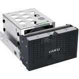 """Lian Li HDD Expansion-Kit EX-23NB für Lian Li Tower, schwarz, Erweiterungsmodul & Festplattenkühler für 3 x 3,5"""" HDD - passend für 5,2"""