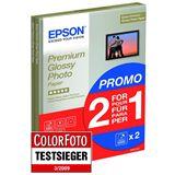 Epson Premium Fotopapier 29.7x21 cm (30 Blatt)