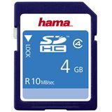 4 GB Hama High Speed SDHC Class 4 Bulk