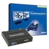 Matrox DualHead2Go VGA Grafikkonverter für 2x DVI (D2G-A2D-IF)