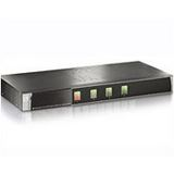 LevelOne KVM-0420 4-fach Rackmount KVM-Switch