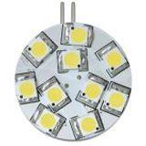 Delock Lighting 10x SMD mit Pins seitlich Warmweiß G4 A