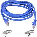 (€3,30*/1m) 3.00m InLine Cat. 6 Patchkabel S/FTP PiMF RJ45 Stecker auf RJ45 Stecker Blau halogenfrei