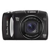 Canon Powershot SX120 Digitalkamera Schwarz