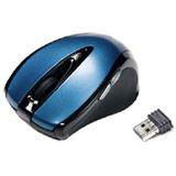 Revoltec Wireless C203 Cordless Optische Maus Blau USB