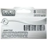 Arctic Cooling Alkaline AA / Mignon Alkaline 1.5 V 8er Pack