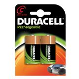 Duracell Recharge Ultra HR14 Nickel-Metall-Hydrid C Baby Akku 3000 mAh 2er Pack