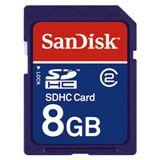 8GB SanDisk SD CARD SDHC Bulk