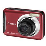 Canon Powershot A495 Digitalkamera Rot