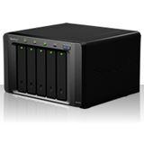 """Synology Disk Station DS1010+ NAS System für 5x2,5"""" oder 5x3,5"""" SATA II / SSD HDD Schwarz"""