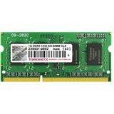 1GB Transcend JetRAM DDR3-1333 SO-DIMM CL9 Single