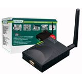 Digitus DN-13014-1 Wireless LAN USB Printserver 1x RJ45, 1x USB A