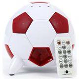 Evestar Fussball iPod Soundsystem Weiss / Rot