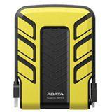 """640GB ADATA Classic SH93 ASH93-640GU-CYL 2.5"""" (6.4cm) USB 2.0 schwarz/gelb"""