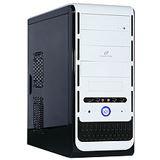 ATX Cooltek K-Series K2 White Edition Rev.B Midi Tower o.NT Weiß/Schwarz