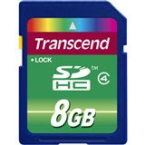 8 GB Transcend Standard SDHC Class 4 Bulk