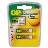 GP Batteries ReCyko+ HR03 Nickel-Metall-Hydrid AAA Micro Akku 650 mAh 2er Pack