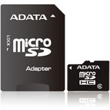 8 GB ADATA Turbo microSDHC Class 6 Retail inkl. Adapter