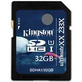 32 GB Kingston UltimateXX SDHC UHS-I Retail