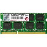 4GB Transcend Value DDR3-1333 SO-DIMM CL9 Single