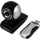 LogiLink wireless 300k CMOS Sensor 2.4 GHz Mikrofon