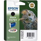 Epson T0791 Tintenpatrone schwarz Standardkapazität 11ml 1er-Pack RF Tag