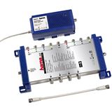 Hama 44317 SAT-Multischalter 9/4 - Lypsi DiSEqC 2.0 mit Sc