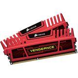 8GB Corsair Vengeance Red DDR3-2133 DIMM CL9 Dual Kit