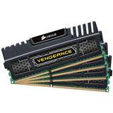 16GB Corsair Vengeance Black DDR3-2400 DIMM CL9 Quad Kit