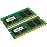 4GB Crucial DDR3-1066 SO-DIMM CL7 Dual Kit