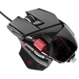 Mad Catz Cyborg R.A.T 5 Gaming Mouse USB gloss black (kabelgebunden)