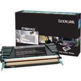 Lexmark corporate Toner PGSX746 schwarz