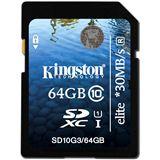 64 GB Kingston UHS-I Elite SDXC Class 10 Retail