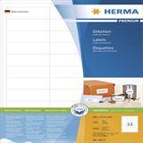 Herma 4613 Premium Universal-Etiketten 6.6x2.54 cm (200 Blatt (6000 Etiketten))