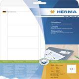 Herma 5028 Premium Universal-Etiketten 8.38x5.08 cm (25 Blatt ( 250 Etiketten))